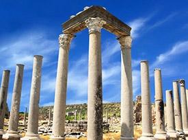 شهر باستانی پرگا در آنتالیا