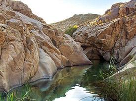 جاذبه طبیعی هفت حوض در مشهد