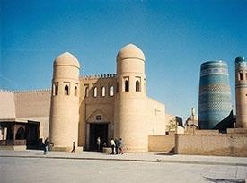 قلعه ایچان در خیوه ازبکستان