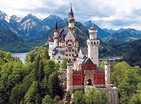قلعهی نویشوانشتاین آلمان
